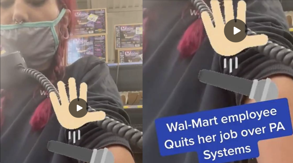 Walmart Employee Quits In Most Epic Way Possible EXZM Zack Mount September 17th 2021