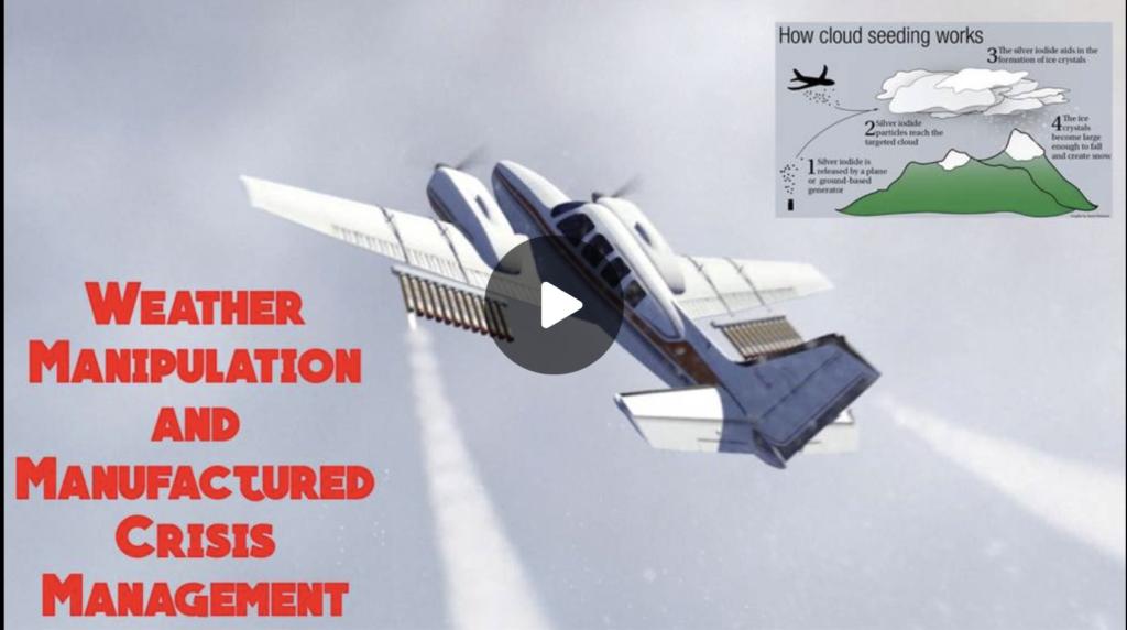 Weather Manipulation and Manufactured Crisis Management EXZM Zack Mount September 21st 2021