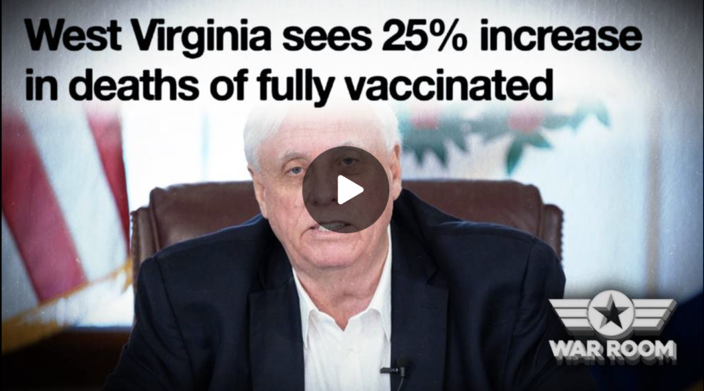West Virginia Governor Drops Bombshell 25 percent Increase In Death Amongst Vaccinated Individuals EXZM Zack Mount September 7th 2021