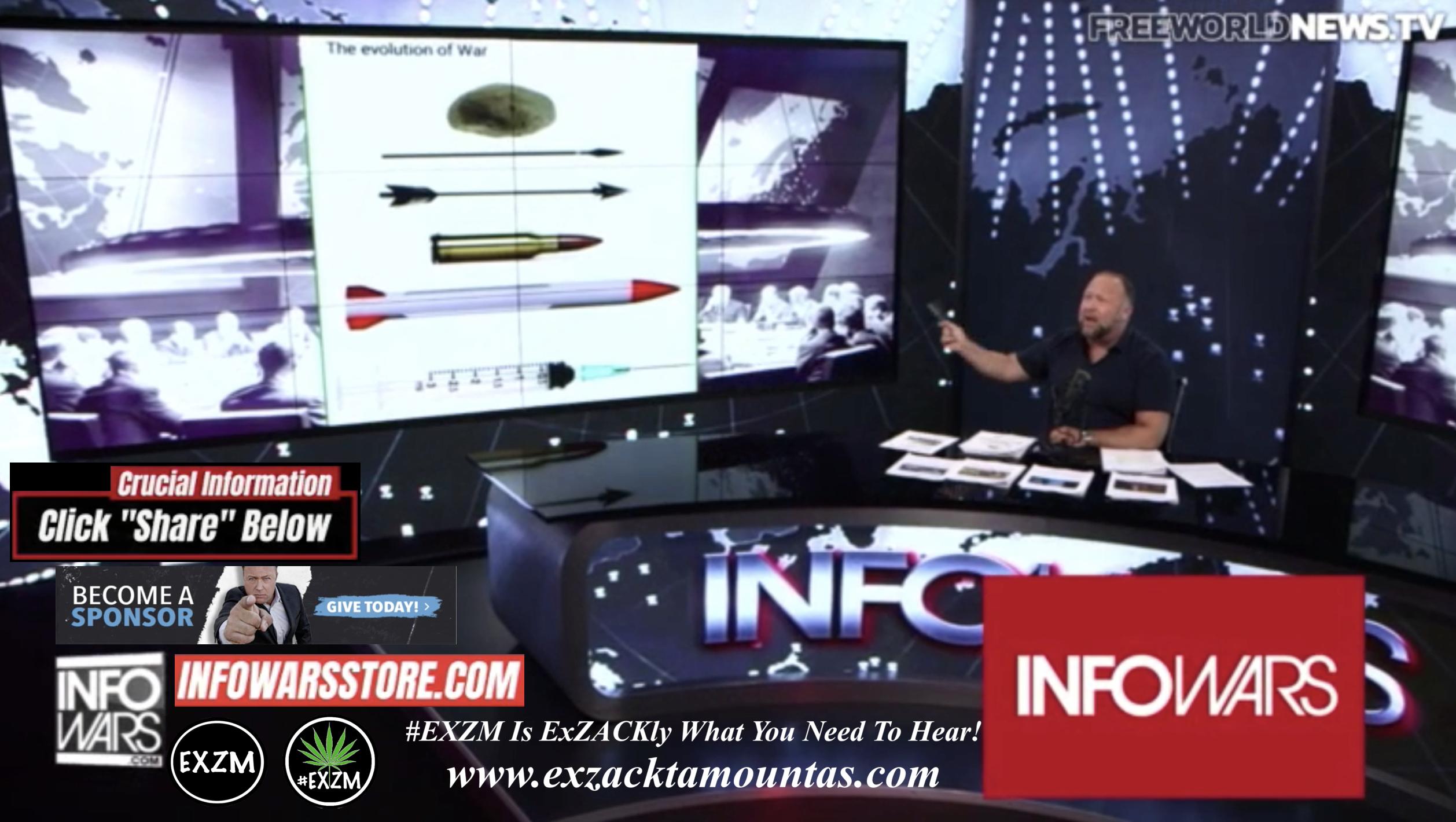 Alex Jones Live In Infowars Studio Free World News TV EXZM Zack Mount October 24th 2021 copy