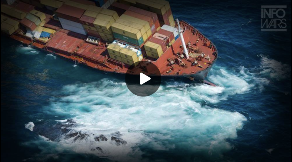 America Is In A Globalist Stranglehold Thousands Of Stranded Ships Is Just The Beginning EXZM Zack Mount October 3rd 2021