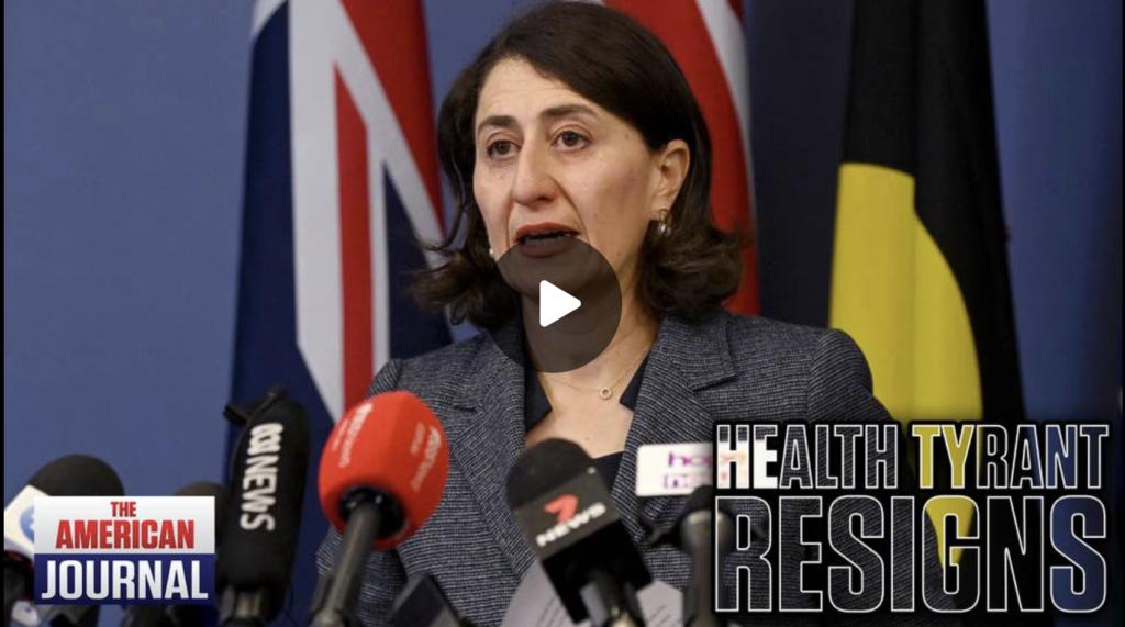 Australia Lockdown Tyrant Forced To Resign Amid Corruption Probe EXZM Zack Mount October 1st 2021