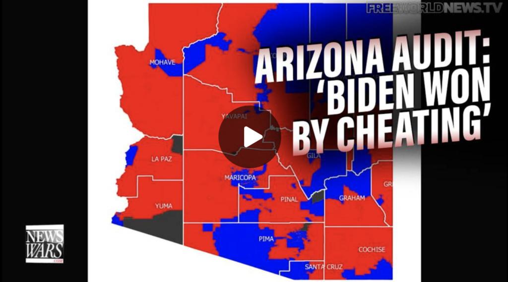 Biden Won by Cheating Arizona Audit Finds EXZM Zack Mount September 27th 2021