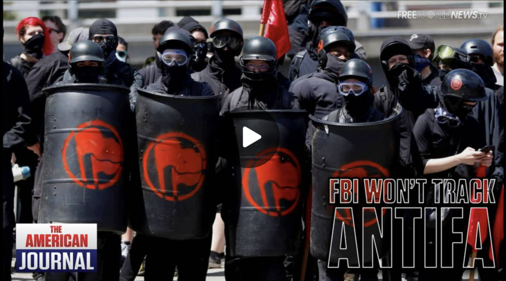 FBI Admits They Dont Even Track Antifa Violence EXZM Zack Mount October 1st 2021
