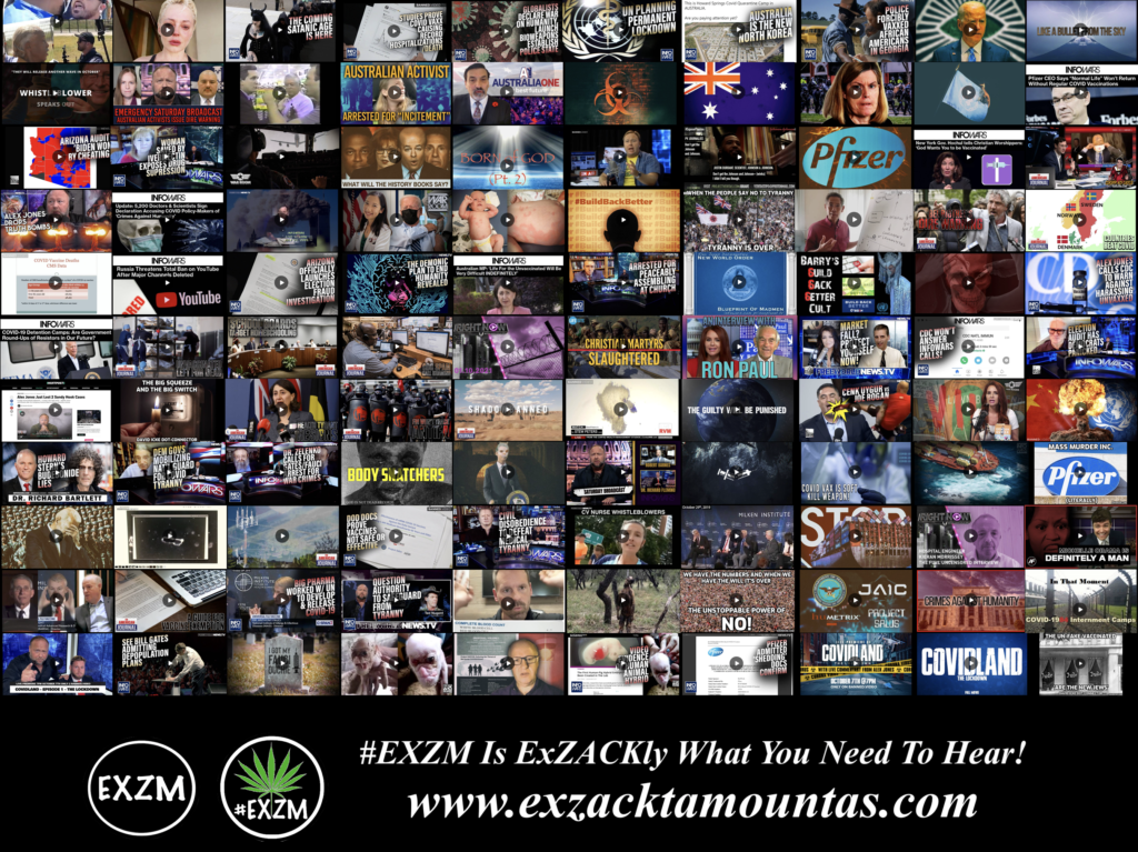 MOST WATCHED VIDEOS ON BANNED VIDEO DEEP STATE GLOBALISTS DEPOPULATION ELECTION FRAUD AND MUCH MORE EXZM Zack Mount September 29th 2021 page 6