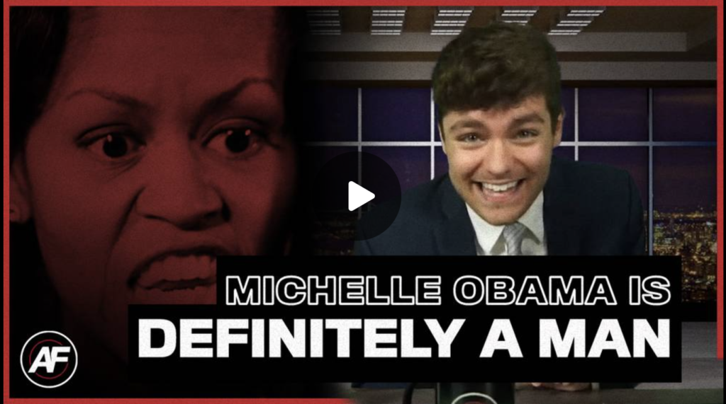 Michelle Obama IS A MAN EXZM Zack Mount October 5th 2021