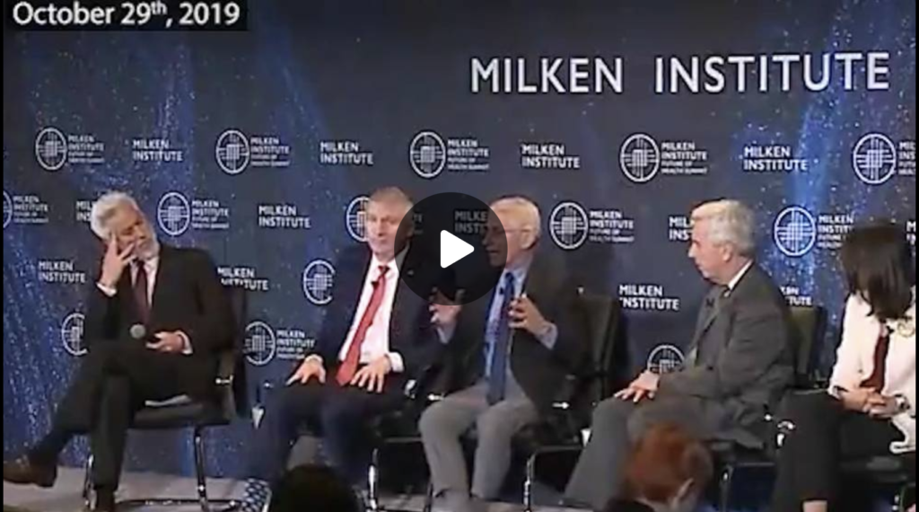 Monday Night Emergency Broadcast Video Emerges of Fauci and HHS Plotting TO Stage Massive Health Scare Using New Virus EXZM Zack Mount October 4th 2021