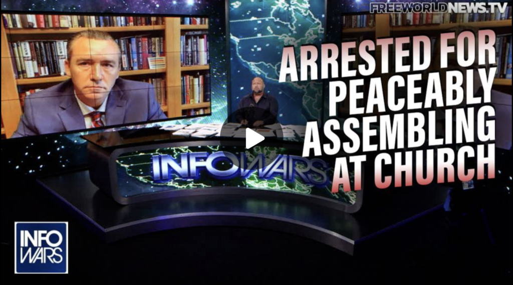 POWERFUL MUST SEE INTERVIEW Louisiana Pastor Arrested for Holding Church Fights Back EXZM Zack Mount September 29th 2021