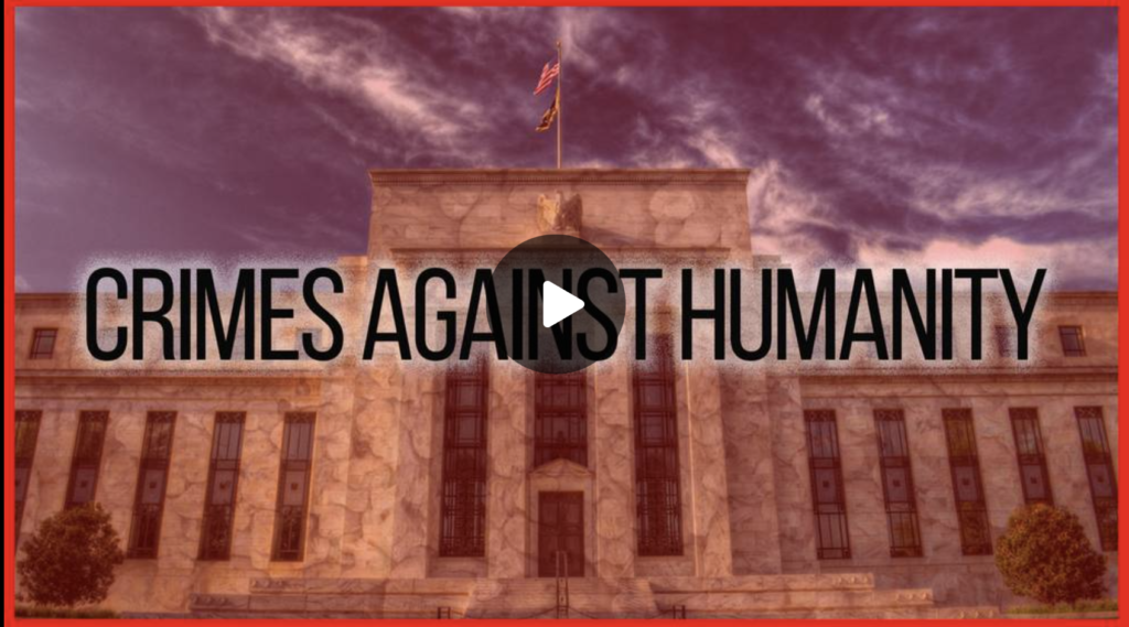 The Big Banks Are Guilty Of Crimes Against Humanity EXZM Zack Mount October 6th 2021