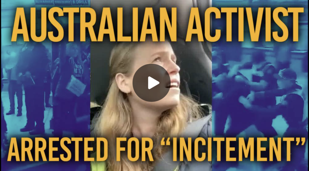 They Want To Take Your Soul Australian Activist Issues Dire Warning To The World EXZM Zack Mount September 26th 2021