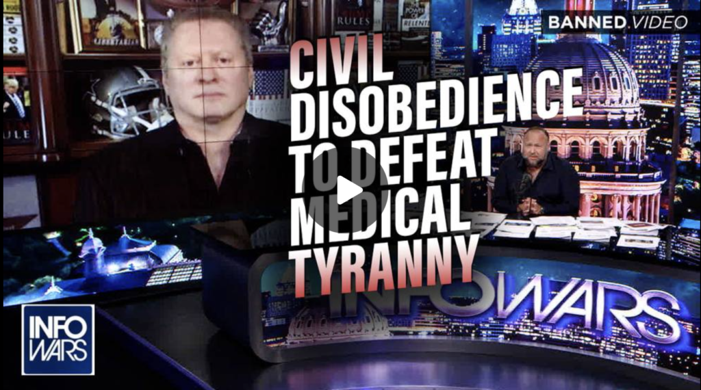 Wayne Allyn Root Civil Disobedience is the Way to Defeat Globalist Medical Tyranny EXZM Zack Mount October 4th 2021